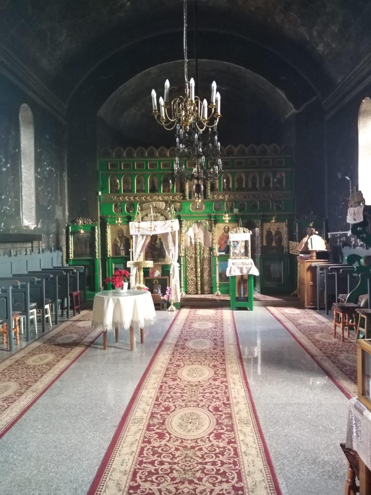 Biserica Parohiei (interior)